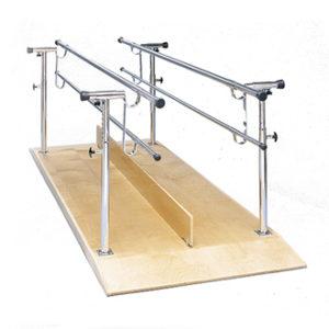 ราวฝึกเดิน 2 บาร์คู่ขนาน / 2 Parallel bars with board