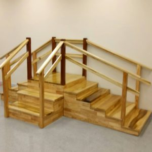 บันไดเข้ามุม 3 ทาง / 3-way corner staircase