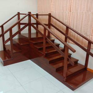 บันไดเข้ามุม 2 ทาง /  2-way corner staircase